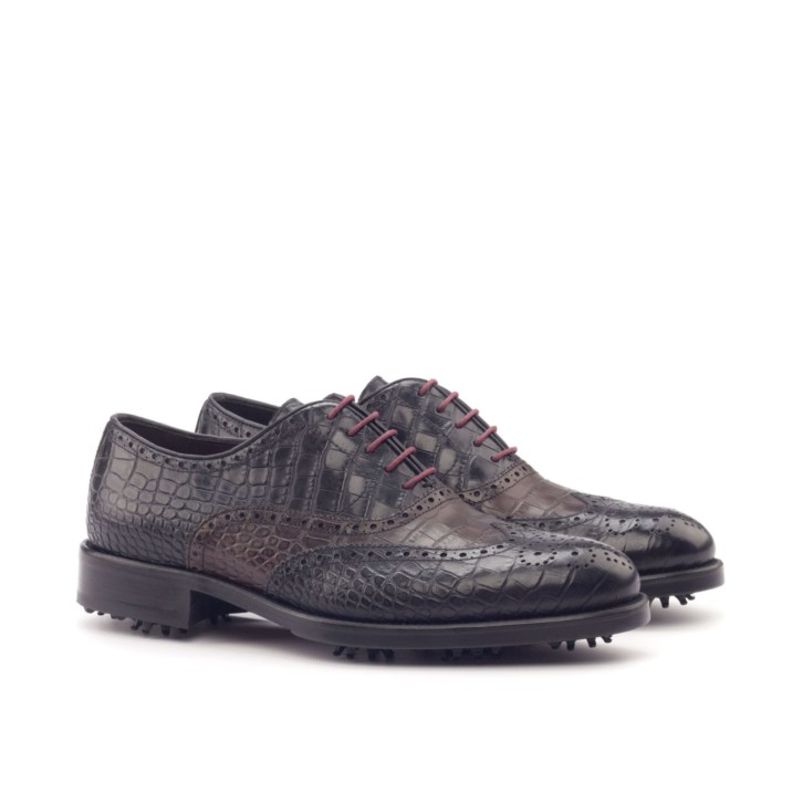 Full Brogue Golf Shoes NICKLAUS