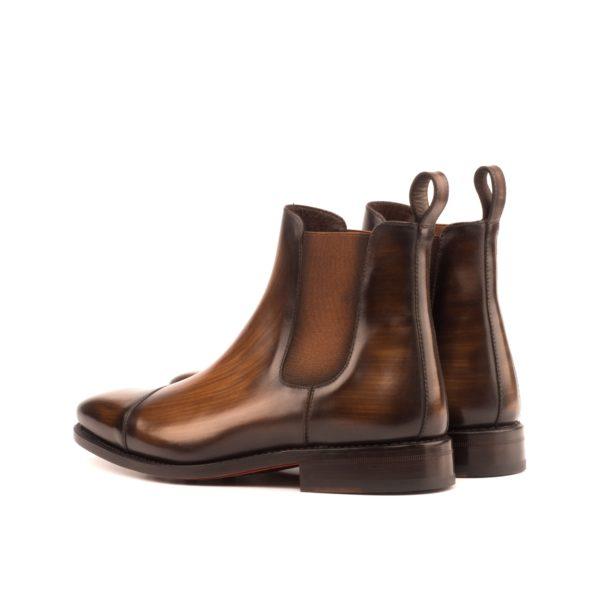brown Chelsea Boot LAGAN rear