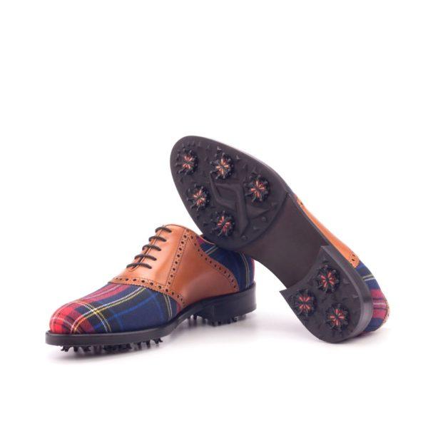 soft spike plaid Golf Shoe soles LYLE
