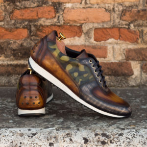 Patina Leather Casual Footwear