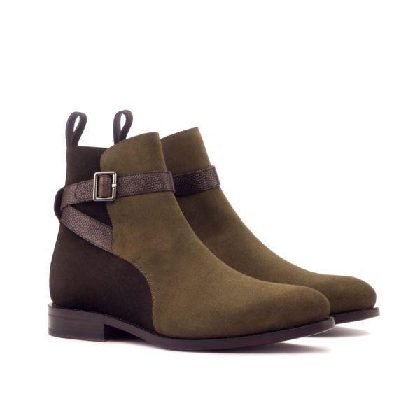 suede Jodhpur Boots brown khaki BALAMM