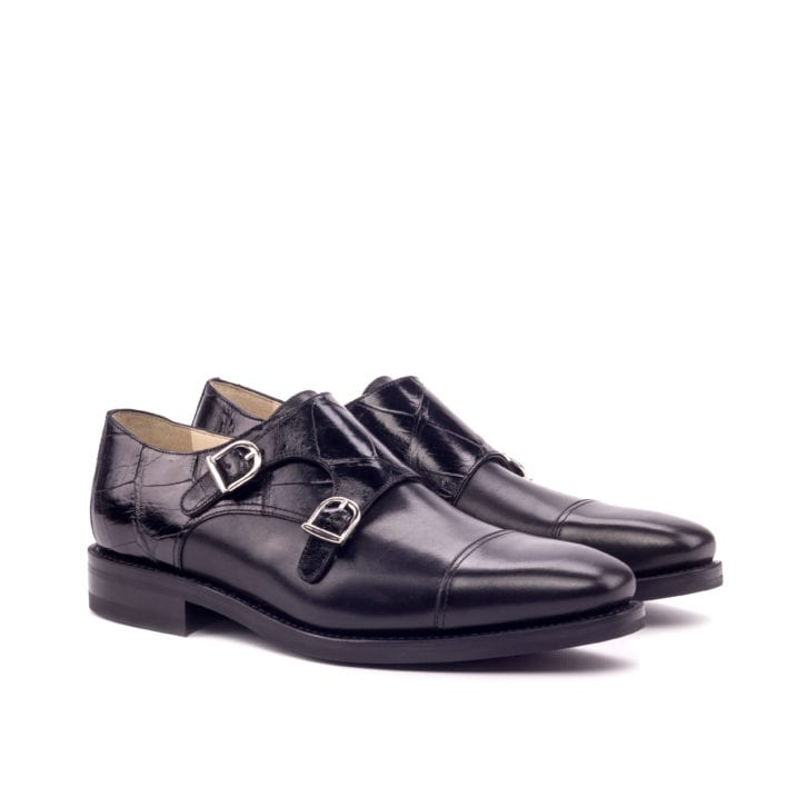 Alligator Double Monk Shoes ROTHSCHILD