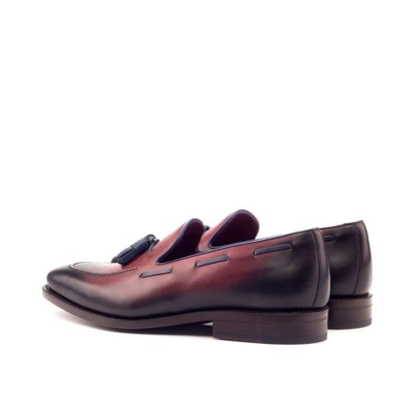 burnished tassel Loafers ABRAHAM