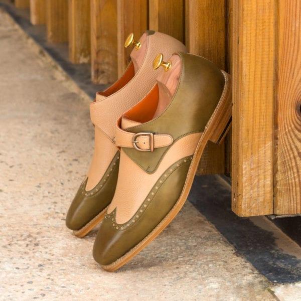 Single Monk Shoes APPORO