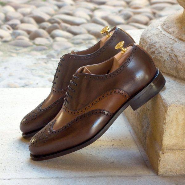 order or customize brown leather Oxford Brogues DALY