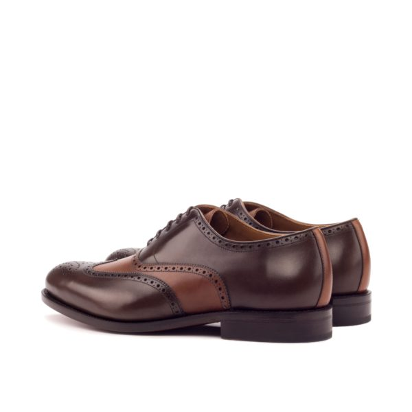 rear leather details on Oxford Brogue Shoes DALY
