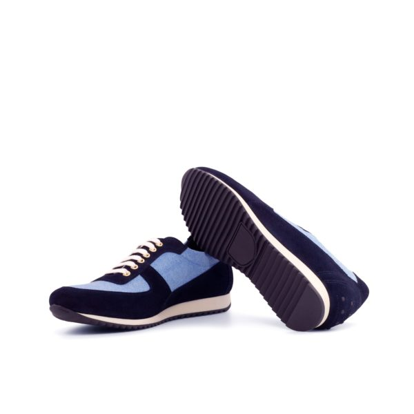 rubber running style wedge sole Trainers DAVIDE