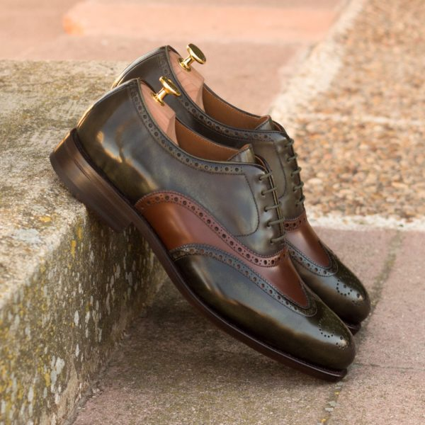 order or customize goodyear welted Brogue Shoes DAWSON