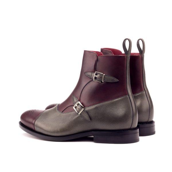 men's double buckle boots VESUVIO
