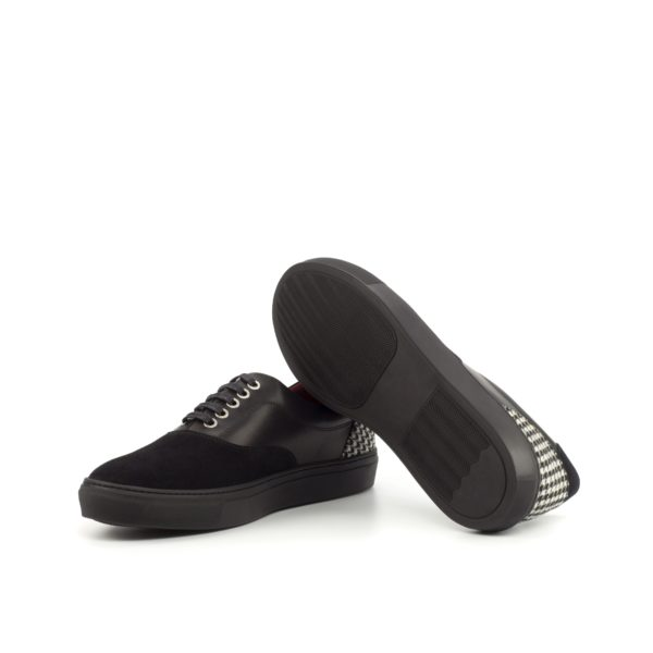 Houndstooth Trainers with black rubber soles HAWK