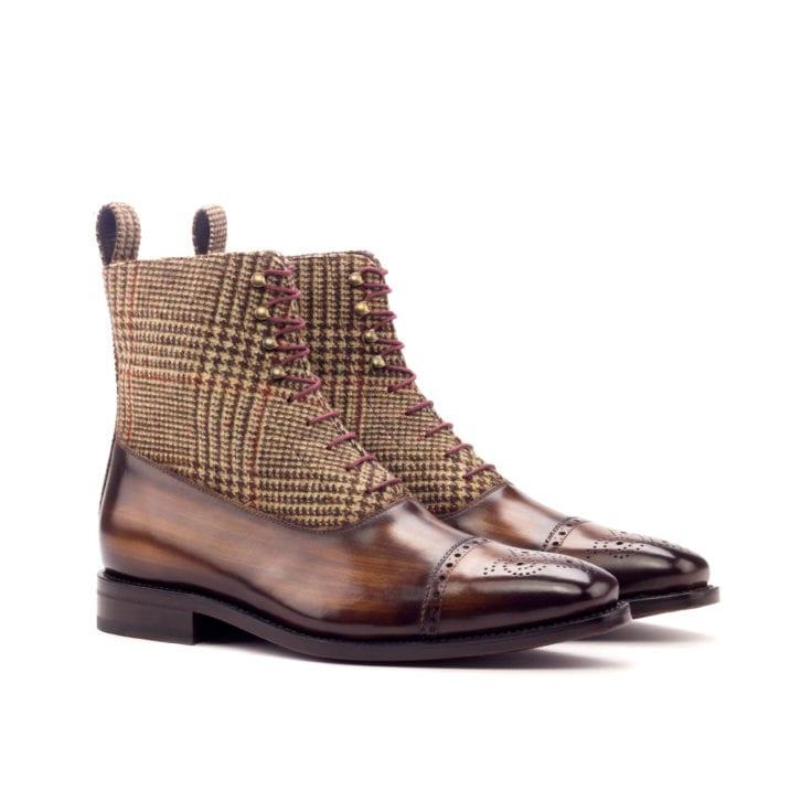Patina Balmoral Boots ROBERTO