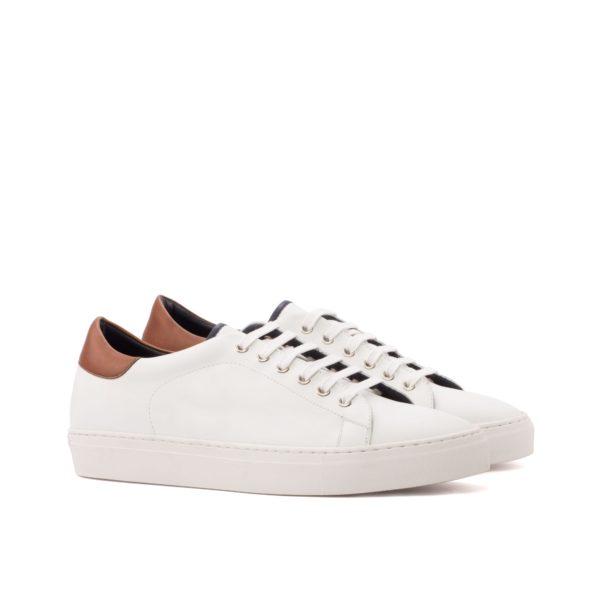 white leather Trainers MALDINI by Civardi