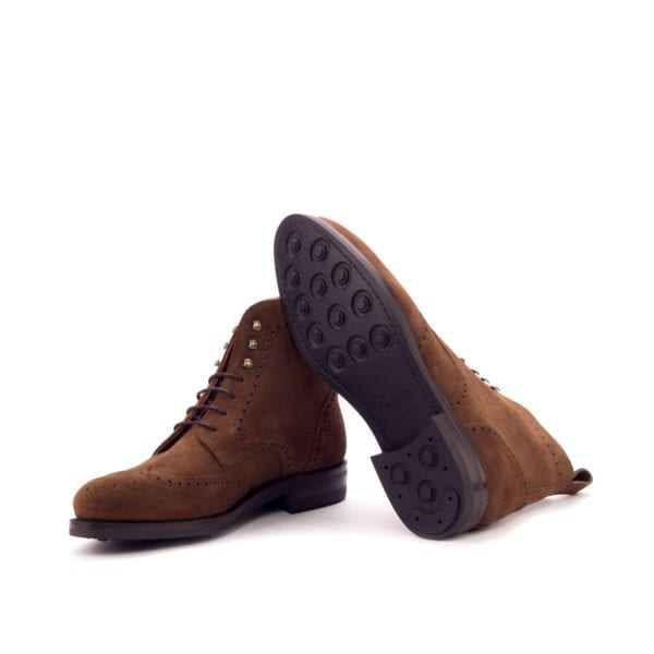 stylish men's suede Brogue Boots SNUFFLE