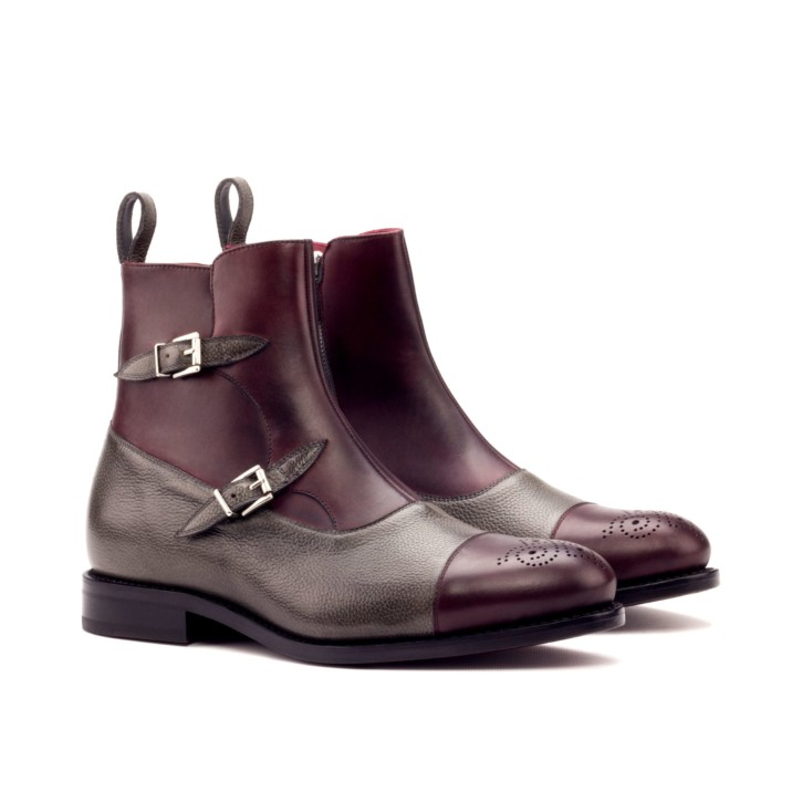 Double Monk Boots VESUVIO