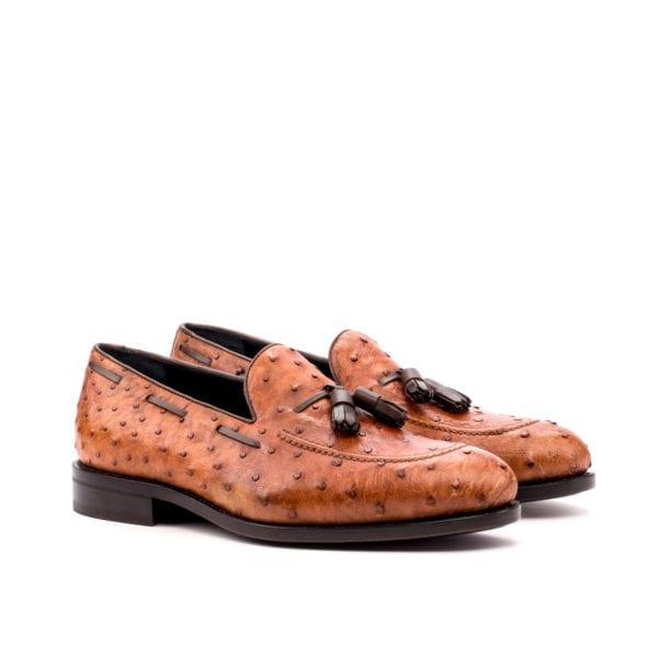 genuine Ostrich tassel Loafers for men OSTER