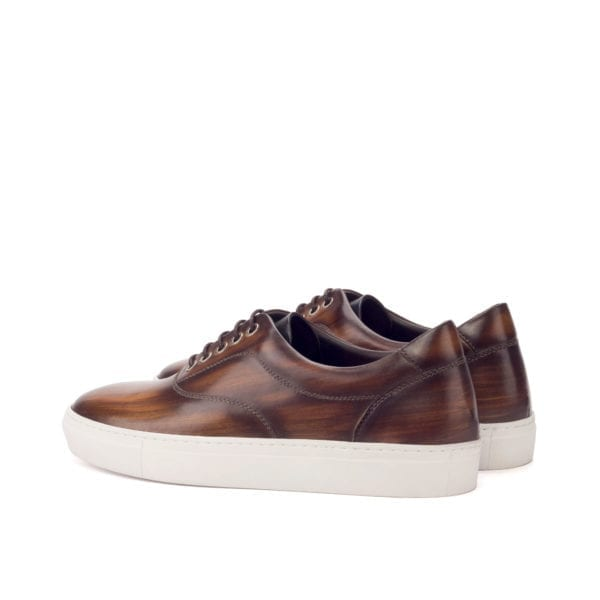 Patina leather TopSider trainers MARGERA