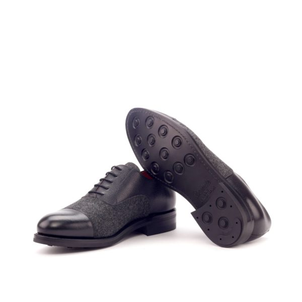 black Dainite rubber goodyear welted sole Oxford Shoes WILKINS