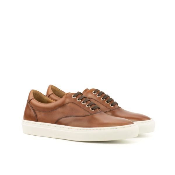 brown calf leather TopSider Trainers ALVA by Civardi