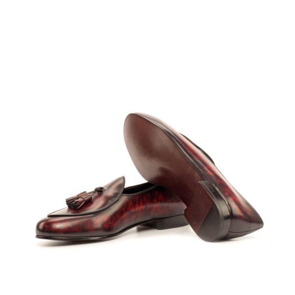 Belgian Slipper TIENEN tassels design leather soles
