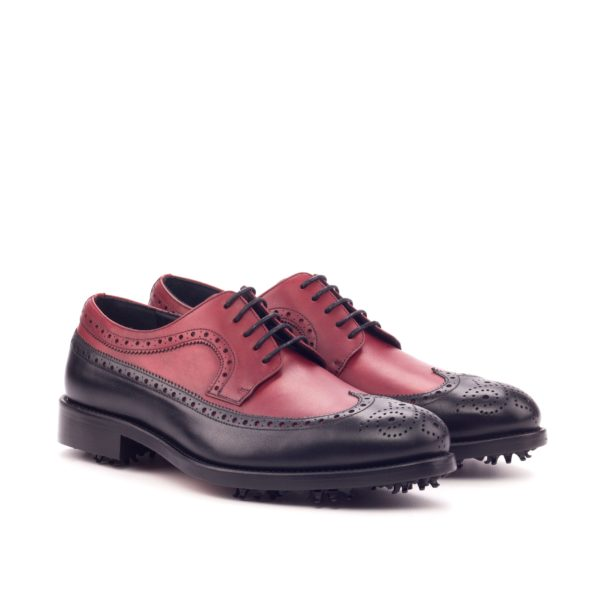 Red and Black Longwing Golf Shoes TIGER