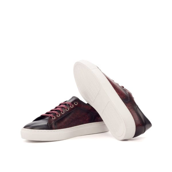 colored Patina leather Trainers RIVA