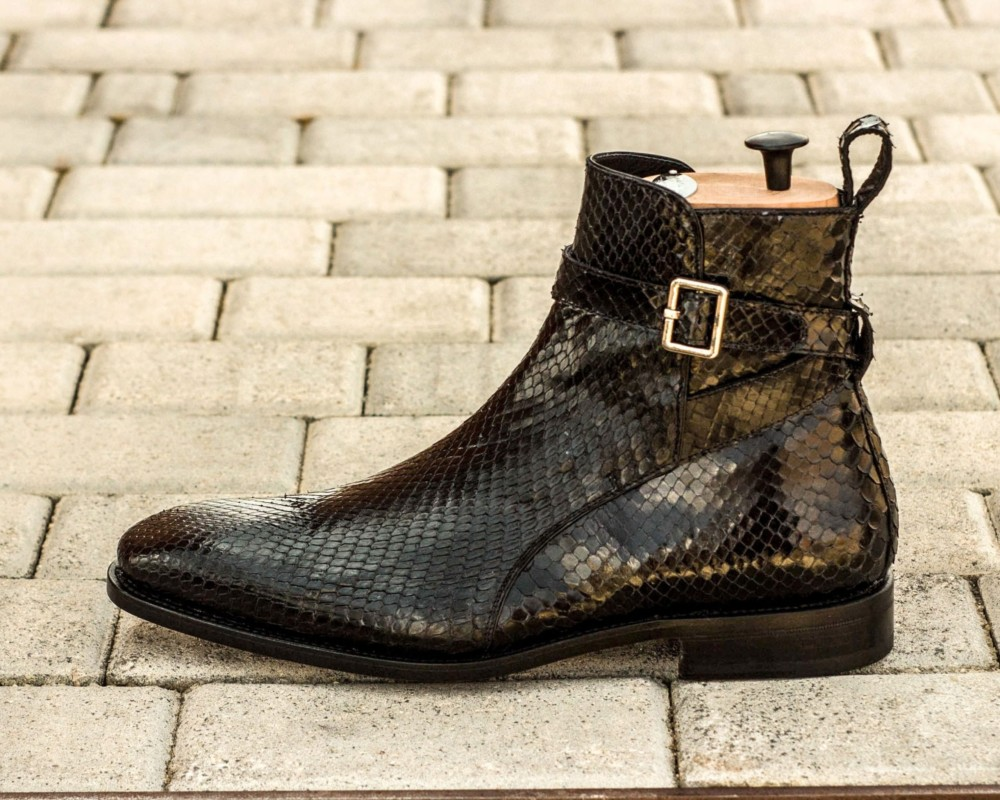 exotic skins python shoes and boots