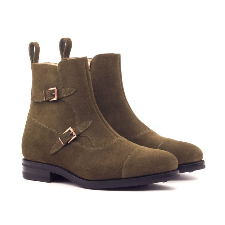 Octavian Buckle Boots TRAPANI