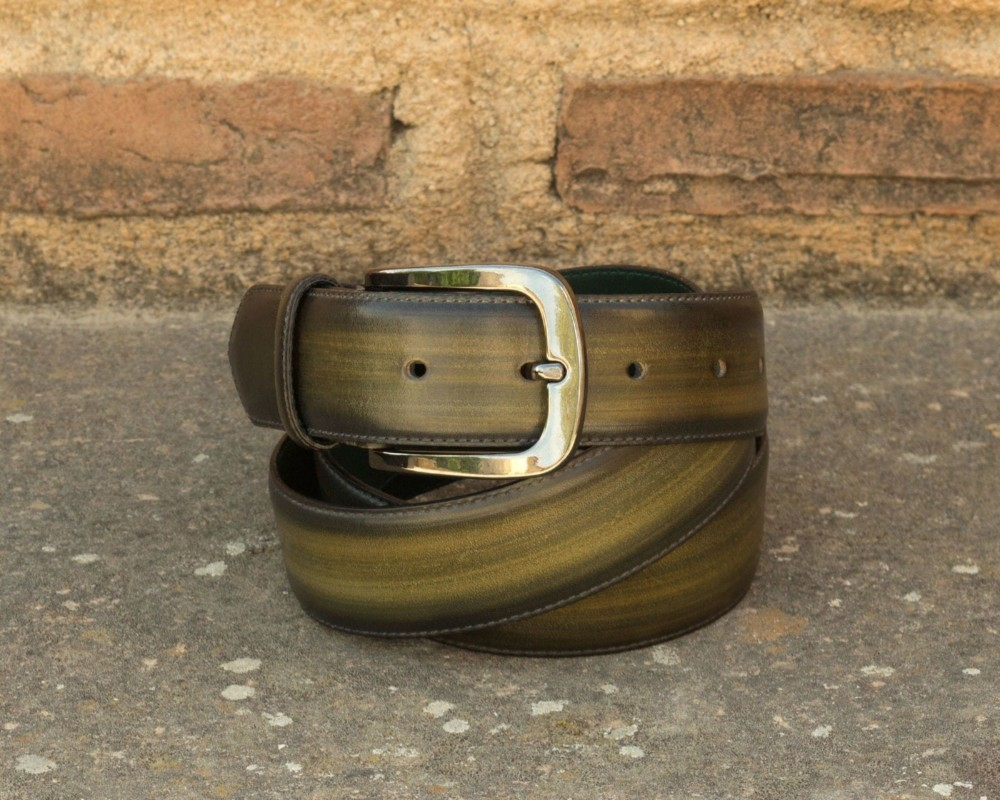 Belts patina leather Civardi