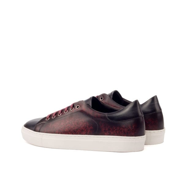 Patina Leather Trainers for men RIVA