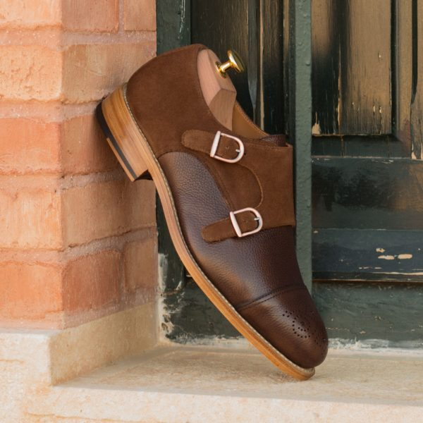 order or customize smart casual Double Monk Shoes PIERRO