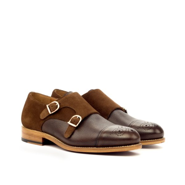 smart casual Double Monk Shoes PIERRO by Civardi
