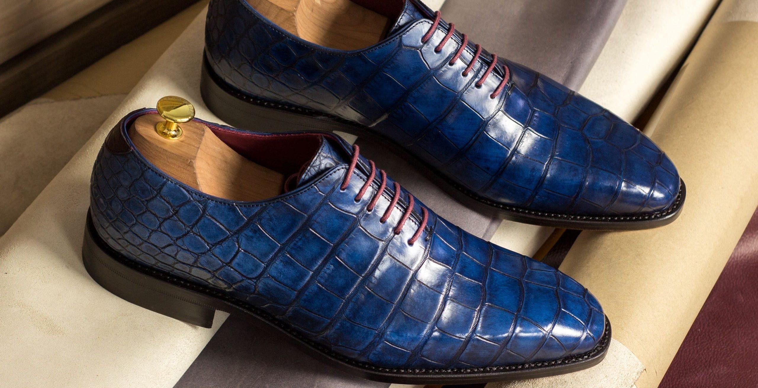 Information about exotic skins footwear at Civardi
