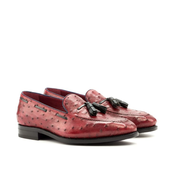 Ostrich Loafers HEADUP