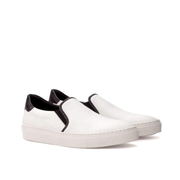 Slip-On Sneakers SNAPPER black & white