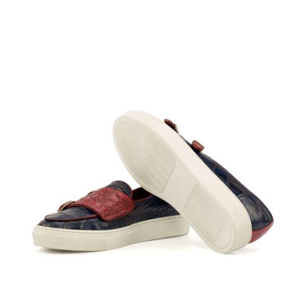 alligator Belgian Monk Sneakers SNAPPS rubber soles