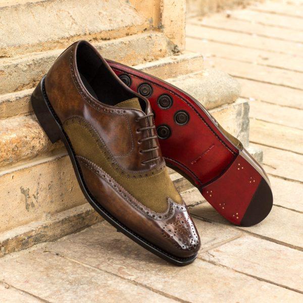 suede leather Full Brogue ALPHONSO insitu