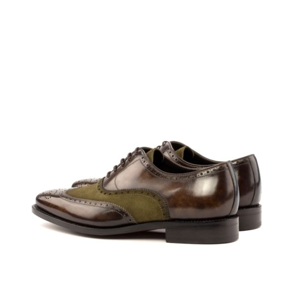 leather suede full brogues ALPHONSO rear
