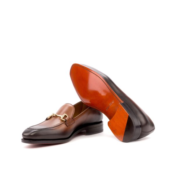 gold horsebit Loafers ANDREW goodyear welt leather soles