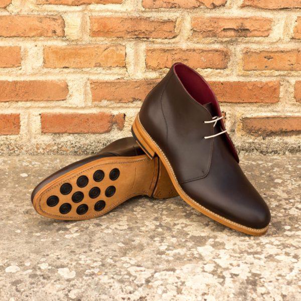 Chukka Boot dark brown leather BALLOO insitu