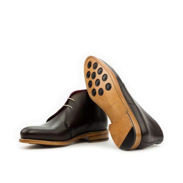 dark brown Chukka Boots goodyear welt soles BALLOO