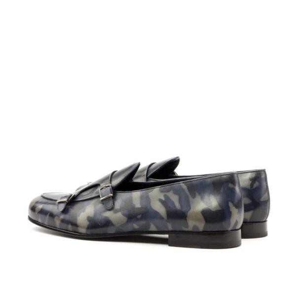 Monk Slipper GASPARD buckle slippers camo pattern rear