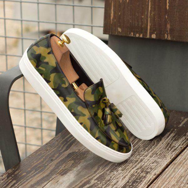Camo pattern Sneakers VERTONGEN insitu