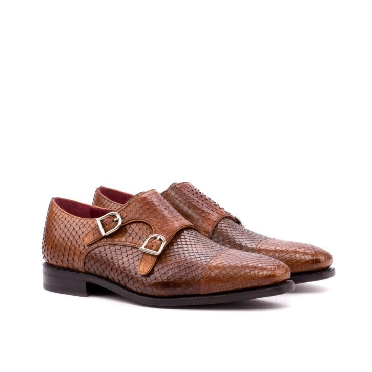 Python Double Monk Shoes SAHARA