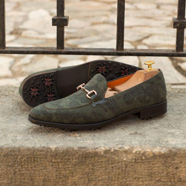 Camo Golf shoes horsebit details FOWLER insitu