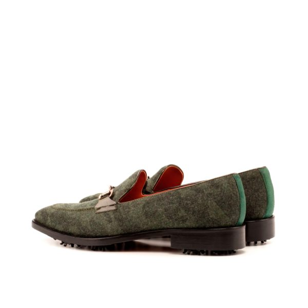 Camoflage patterned slipon Golf Shoes FOWLER rear