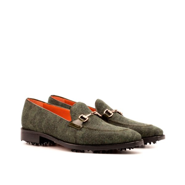 Camoflage Golf Shoes FOWLER golfing loafers green