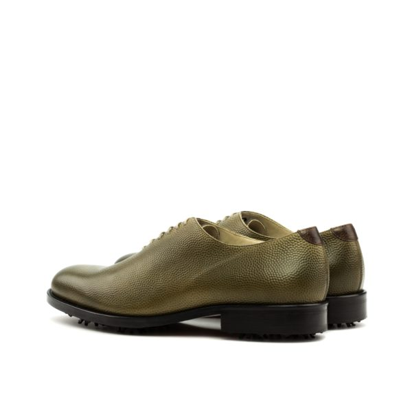 Luxury WholeCut Golf shoes KITE rear