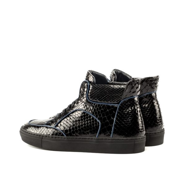 python Hi Top Multi Boots LEGGS black rear