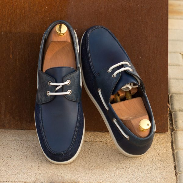 Classic mens boat shoes MARINA insitu
