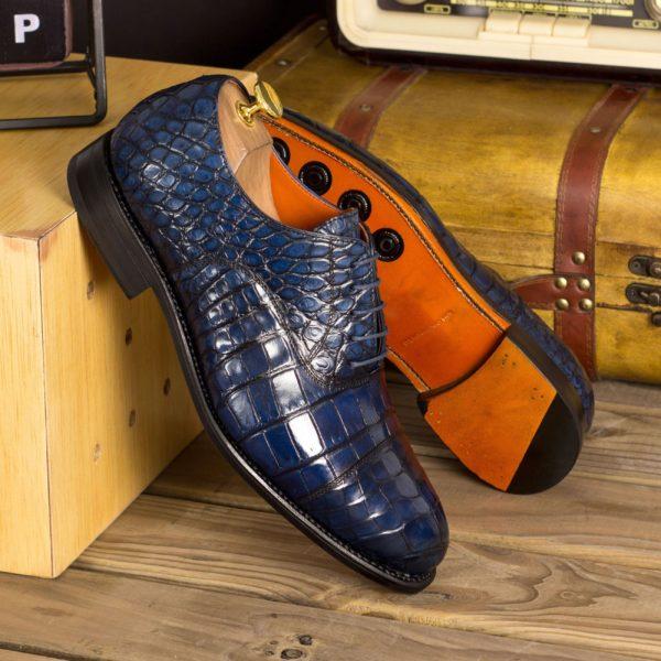 alligator Oxford lace up shoes MURPHY insitu
